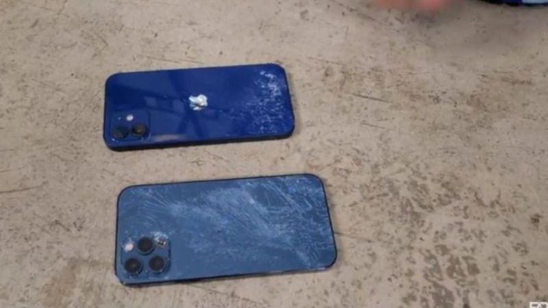 iPhone12、12 Pro誰耐摔?超真實測試過程:「像恐怖片」