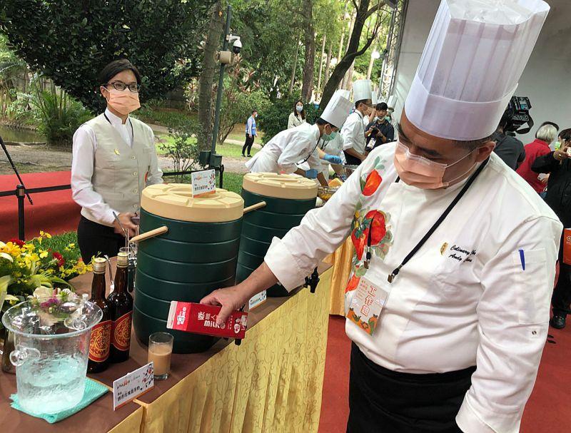 中華文化總會2020聯誼茶會 經國學院統籌展台灣「食」力