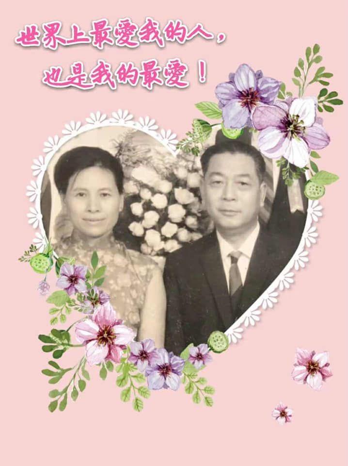 ▲小S曬奶奶爺爺結婚照。(圖/翻攝小S臉書)