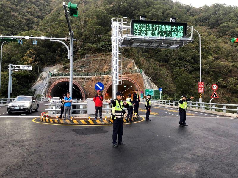 南迴公路草埔森永長隧道 監理機關對行車安全嚴格把關