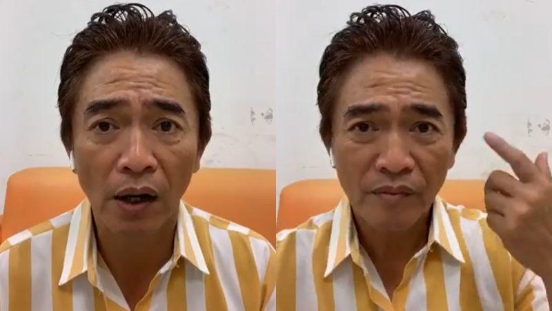 吳宗憲打流感疫苗4天「昏眩不適」 開直播吐:非常後悔