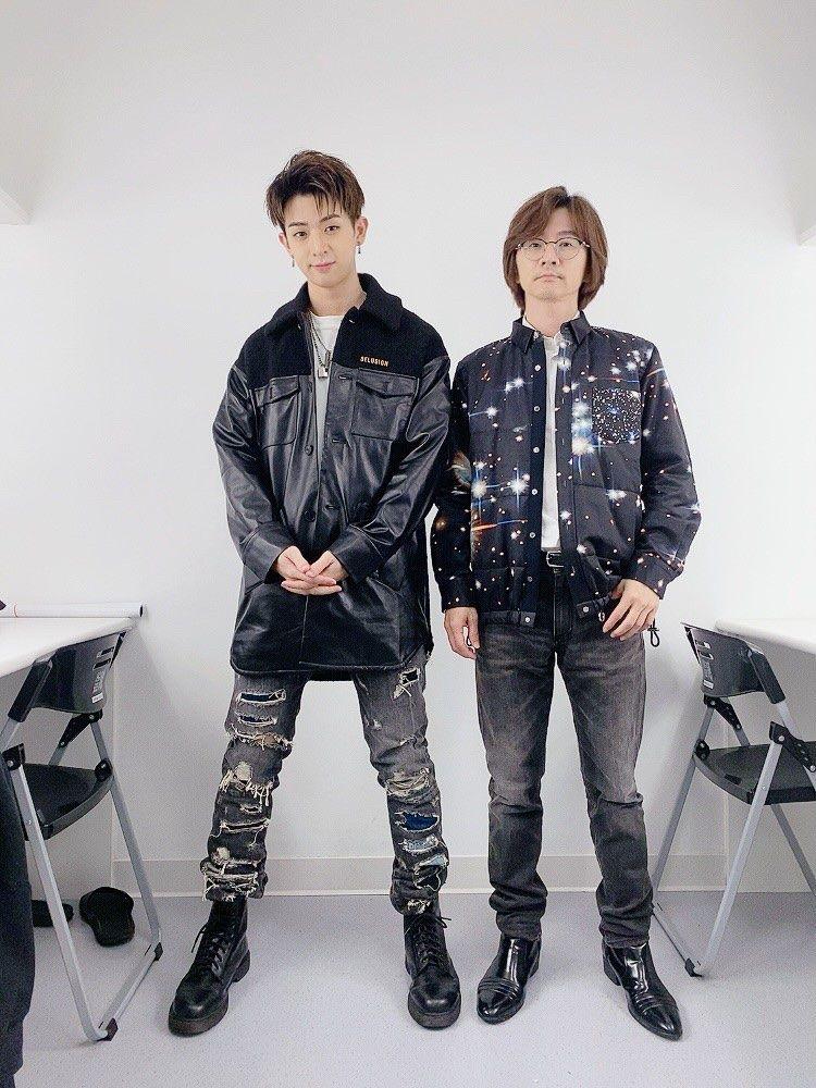 ▲林隆璇(右)與兒子林亭翰為公益獻唱。(圖/青田音樂提供)