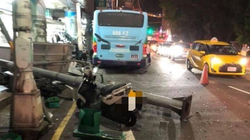 基隆公車擦撞意外釀14傷 林右昌:成立調查小組釐清原因