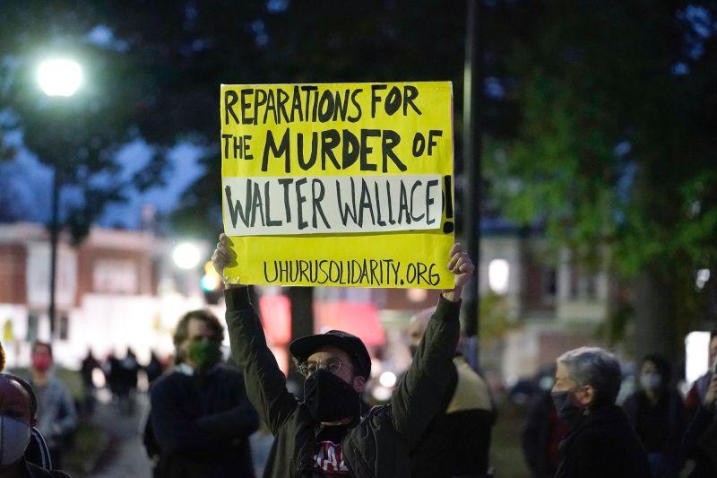 美國再傳警察射殺非裔 賓州<b>費城</b>爆發街頭示威