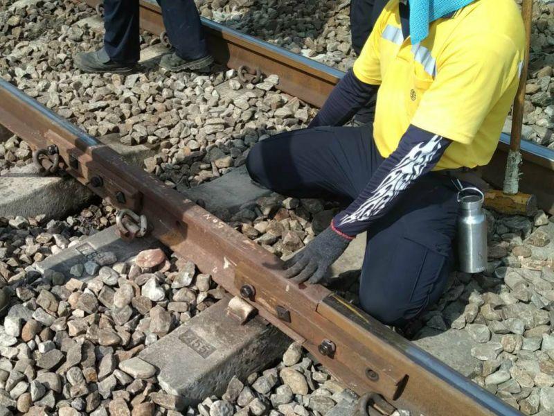 台鐵新市-永康<b>斷軌</b>19公分 運安會稱「異常事件」未立案