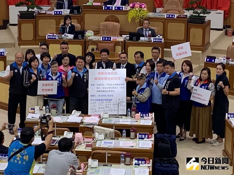 新北國民黨團連署挺中天 侯友宜:更寬容態度看新聞自由