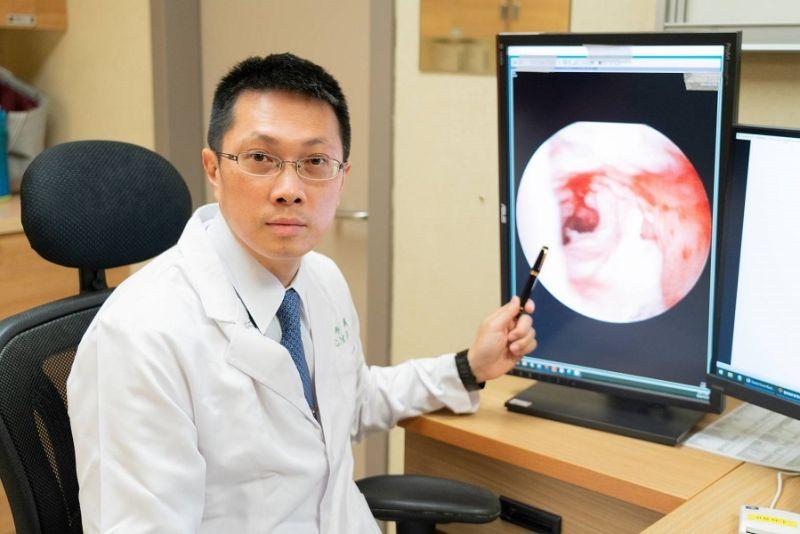 嘉義長庚醫院黃政義醫師表示,新式廔管鏡治療精準的破壞廔管結構,排除肛門失禁的風險。(圖/嘉義長庚醫院提供)
