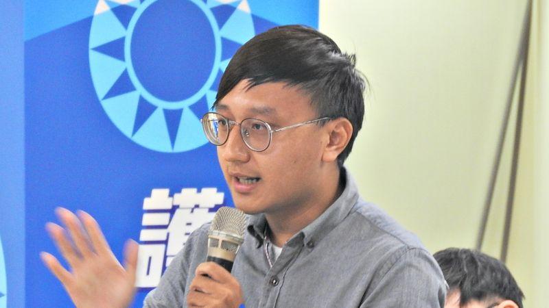國民黨青年團團長陳柏翰28日宣布,青年團將如期參與2020年台灣同志遊行。( 圖 / 記者陳弘志攝,2020.10.28)