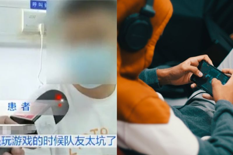 ▲福州有名男子玩手遊連輸四小時,結果氣到肺破洞。(示意圖/翻攝自《福州晚報》及《pexels》 )