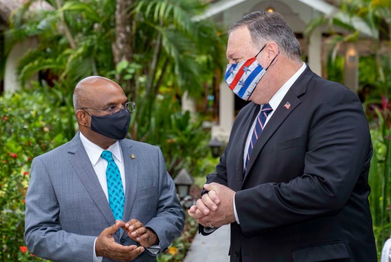 牽制中國!美將設馬爾地夫大使館 蓬佩奧:加強區域安全