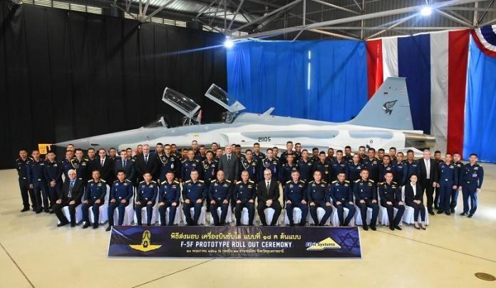 ▲2018年泰國皇家空軍升級的F-5