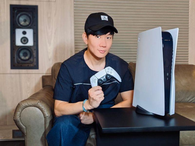 亞洲第一人!林俊傑爽曬<b>PS5</b>神機 網笑歪:空氣清淨機嗎