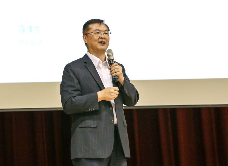▲高雄副市長羅達生談與地方發展共榮。(圖/記者黃守作攝,2020.10.29)