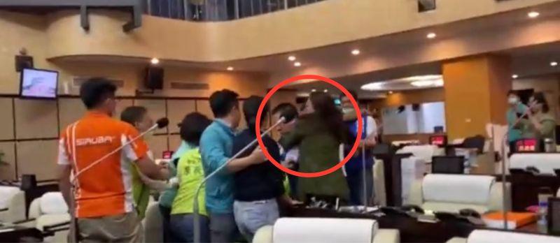 台南市議會爆推擠衝突 多位議員掛彩