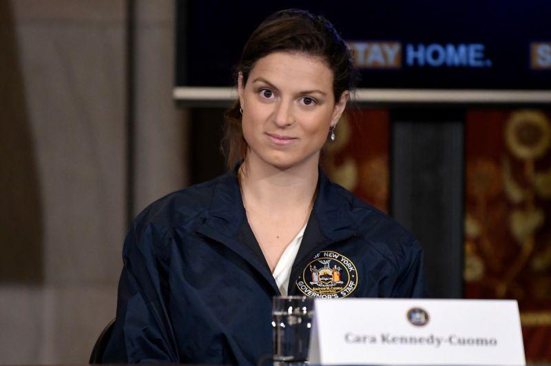 ▲紐約州長女兒卡拉(Cara Kennedy-Cuomo)。(圖/翻攝自《New York Post》)
