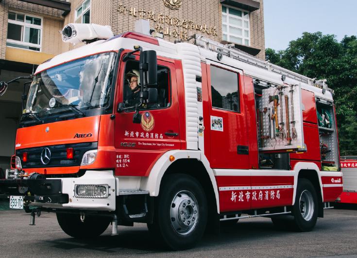 消防車為何都是紅色?專家曝「3解答」 眾讚:長知識了