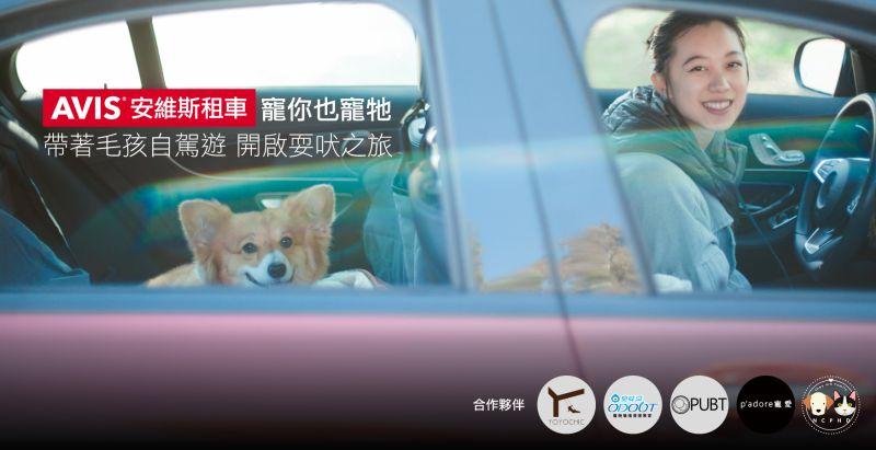 ▲01_AVIS安維斯租車業界首創「寵你也寵牠」寵物共遊友善專案。(圖/資料照片)