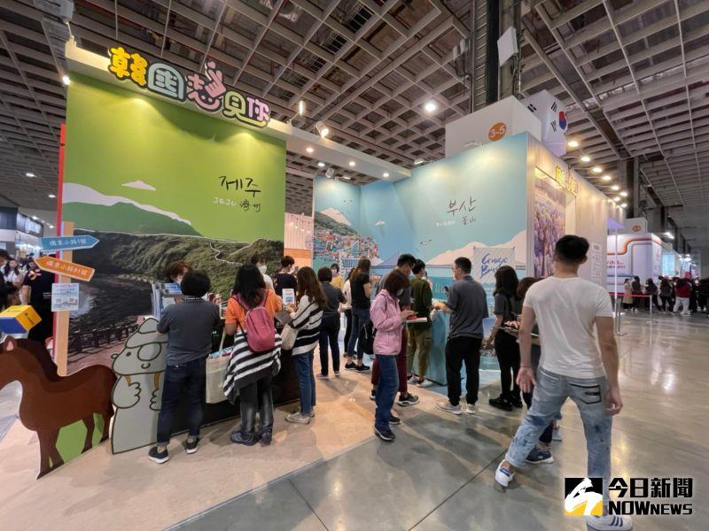 沒產品賣也要來 為什麼日韓堅持參加台北國際旅展?