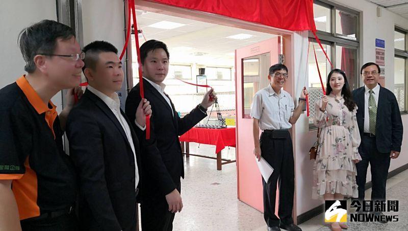 影/技大與全台自動販賣機製造大廠成立技術合作專區