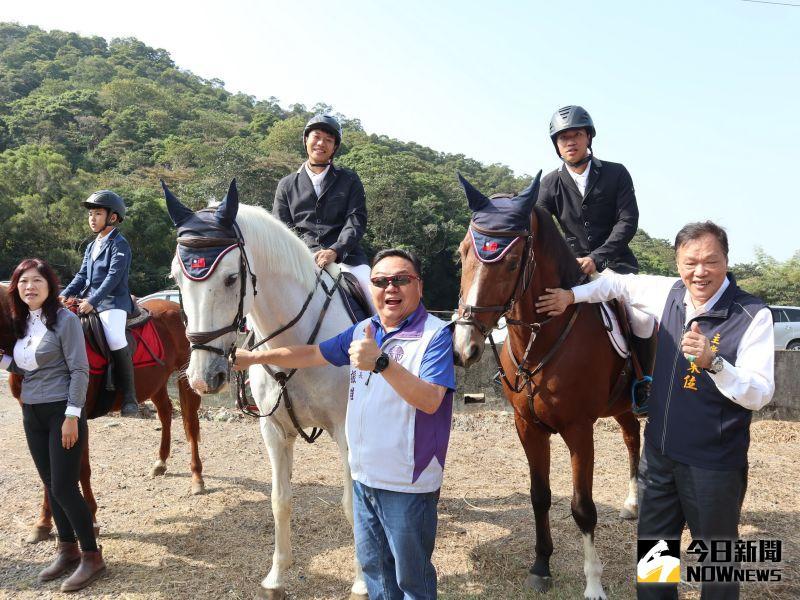 ▲員林市公所「走山健康,引以為農」產業文化活動,將推出大小朋友都喜愛的騎馬體驗。(圖/記者陳雅芳攝,2020.10.30)