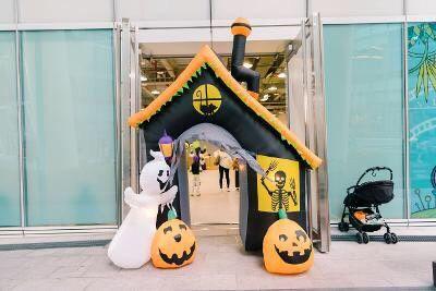 ▲「中信金融園區」)明(31)日下午2時至5時將舉辦萬聖節「Pumpkin!Pumpkin!魔法學院」闖關活動。(圖/中國信託提供)