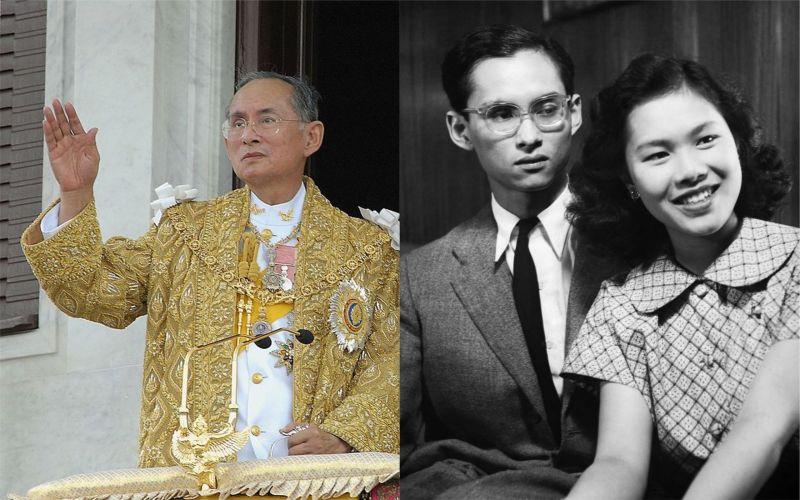 蒲美蓬與妻子