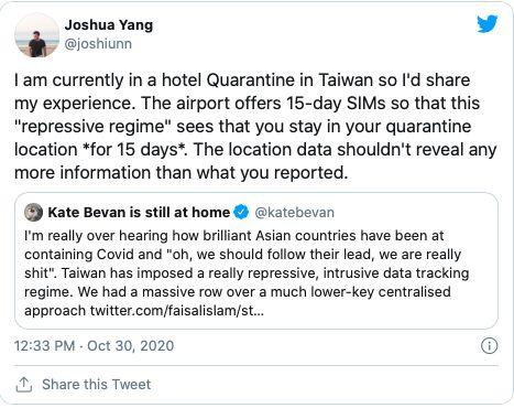 ▲海外留學生也站出來捍衛台灣。(圖/截自推特)