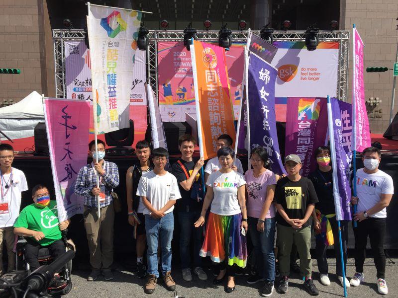 第18屆台灣同志遊行盛大登場!慶祝「成人之美」