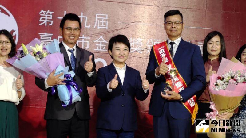 金獎企業「黑手變金手」   盧秀燕:感謝對台中經濟貢獻