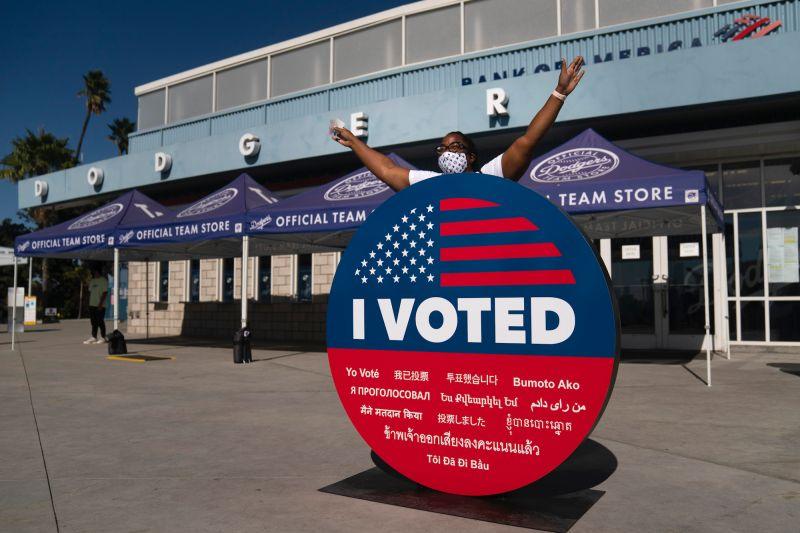 美逾9000萬選民提前投票 約上屆投票總數65%