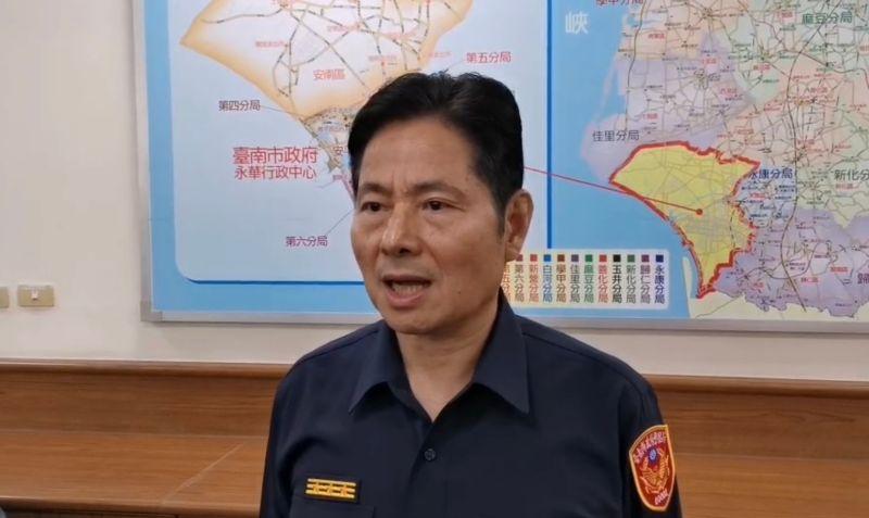 台南市警察局局長詹永茂今(1)日台南市長黃偉哲自請處分。