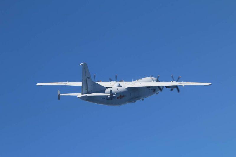 11月接力擾台!共機出動1架次<b>運8</b>技術偵察機侵我西南空域