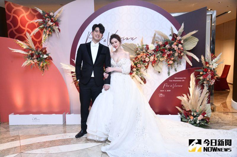 ▲潘逸安與老婆籌備婚禮忙昏頭。(圖