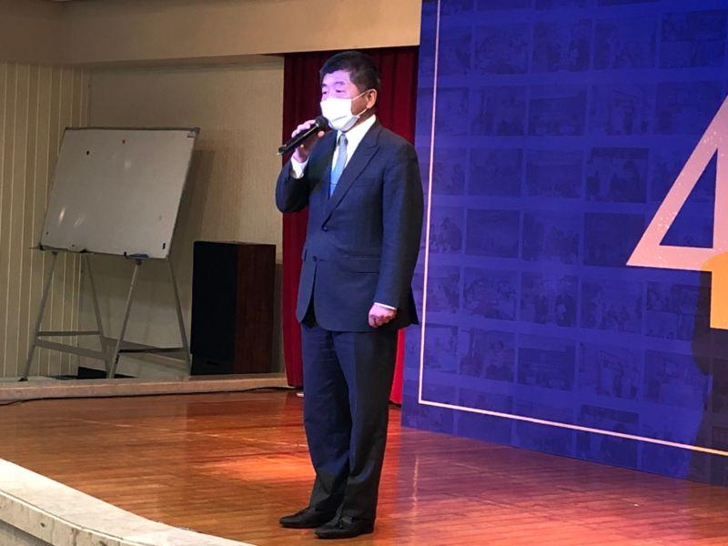 ▲衛福部長陳時中今(2)天上午出席消基會成立40年慶祝大會。(圖/記者劉雅文拍攝)