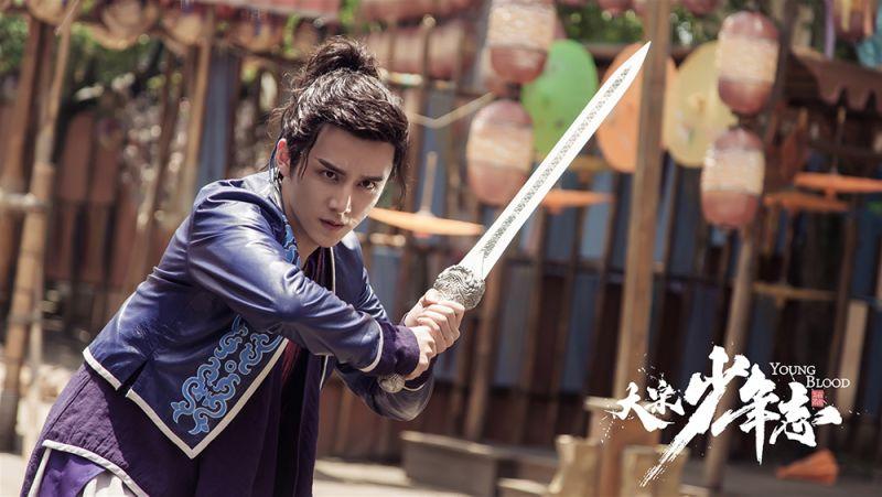 ▲張新成在《大宋少年志》遇到許多武打戲。(圖 / 中天提供)