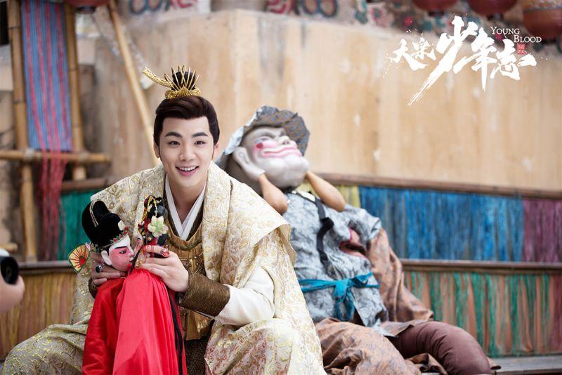 ▲禾浩辰翻轉形象,飾演紈褲官二代的「韋衙內」。(圖