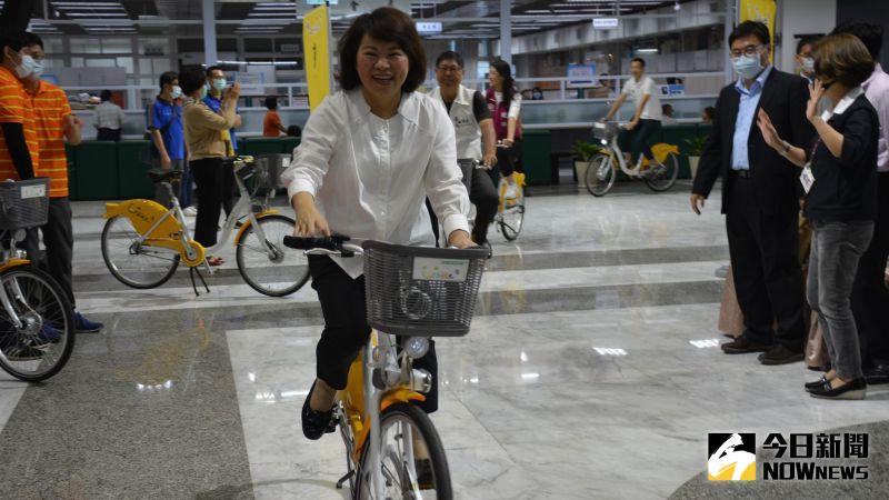 ▲以後來到嘉義市可以優雅、悠閒地騎自行車。(圖/記者郭政隆攝影2020.11.2)
