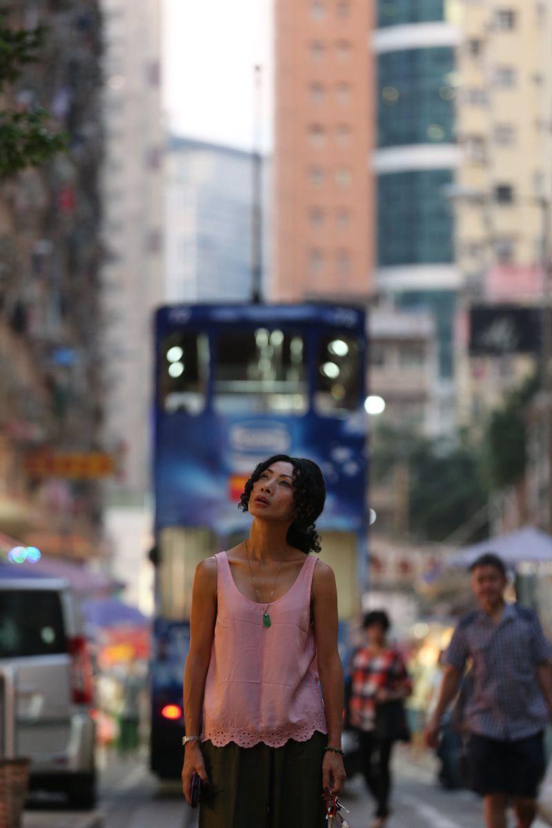 ▲白靈憑電影《墮胎師》入圍金馬獎最佳女主角。(圖/金馬執委會)