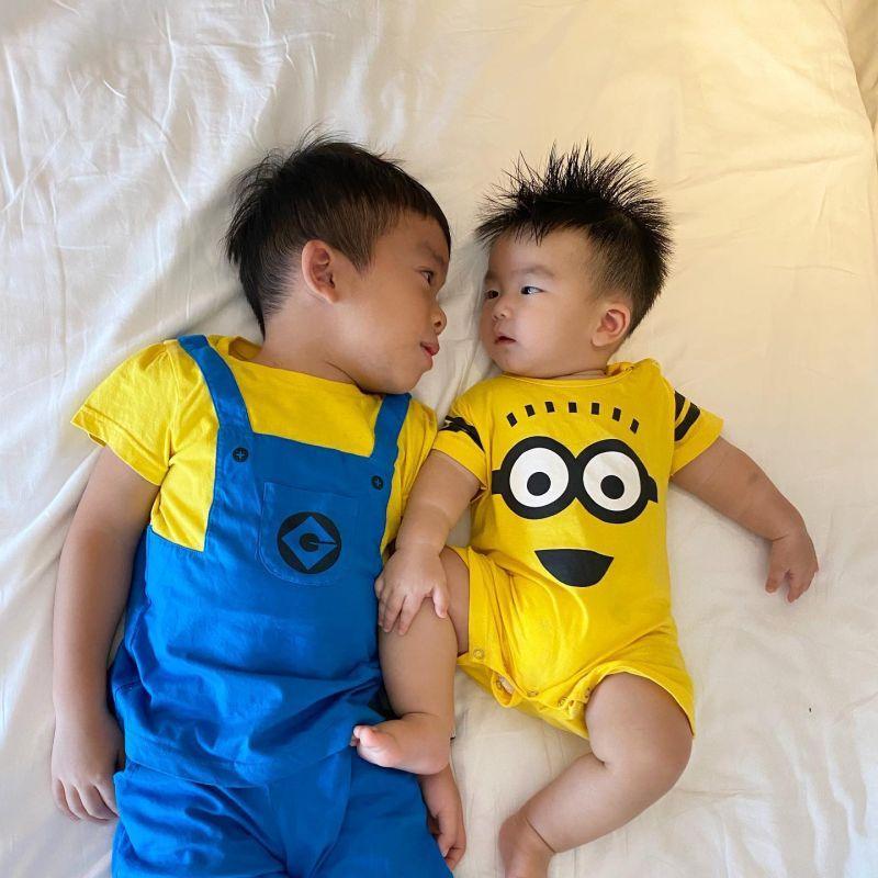 ▲劉香慈大兒子Teddy(左)做過許多讓她頭疼的事。(圖