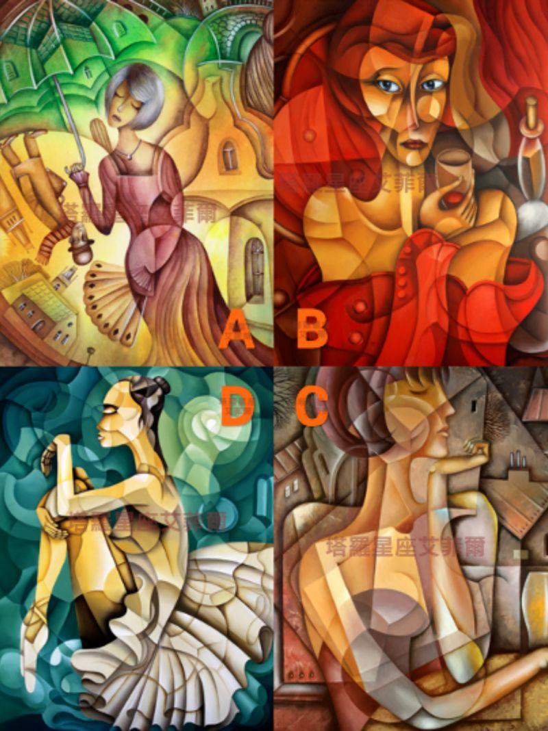 哪幅畫最吸引你?秒測下半輩子將有哪種「<b>享福</b>好命」