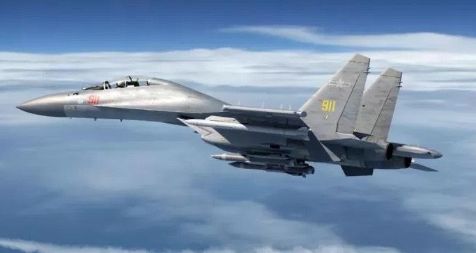 ▲國防部今(13)日證實,今日4架次殲-16戰機及1架次運-8反潛機擾我西南空域。(圖/國防部提供)