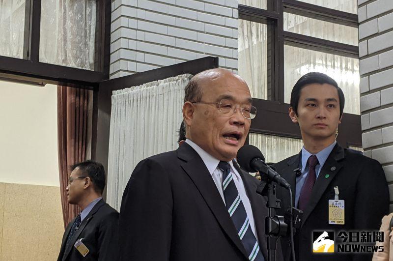 行政院長蘇貞昌