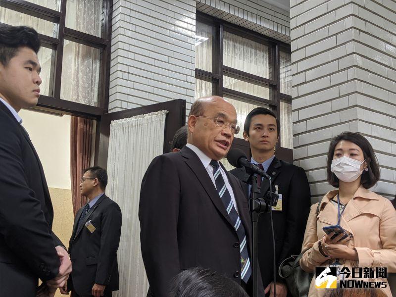 美國總統大選 蘇貞昌:無論誰當選、台灣都是重要夥伴