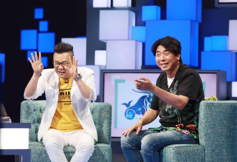 ▲沈玉琳、梁赫群上節目現場笑鬧聲不斷。(圖/公視提供)