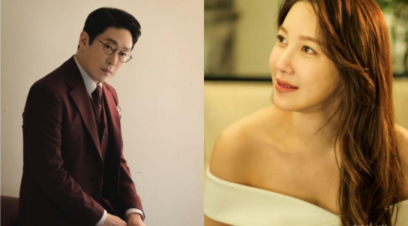 ▲李智雅(右)劇中飾演富豪千金,出眾氣質與魅力迷倒嚴基俊。(圖/SBS)
