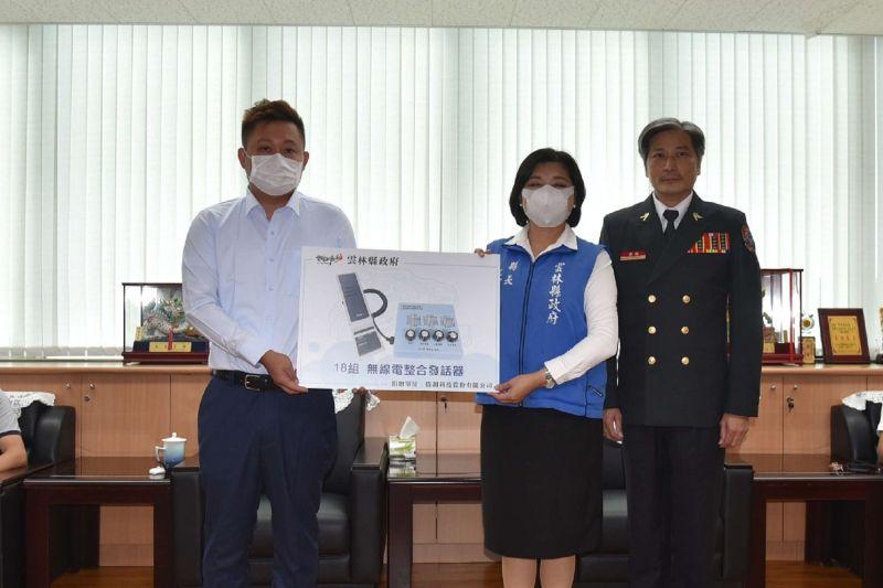 ▲雲林縣救災救護指揮中心啟用。(圖/記者洪佳伶攝,2020.11.03)
