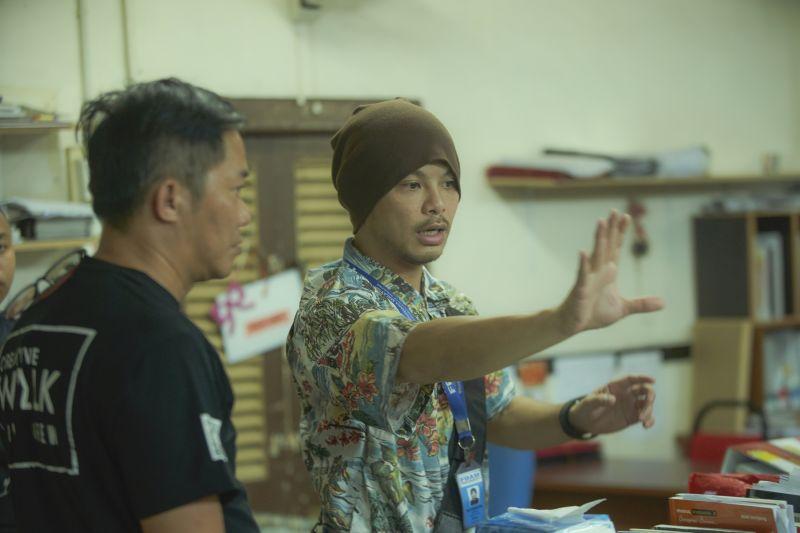 ▲黃明志(右)為電影創作的主題曲《Happy Family》,獲得本屆金馬獎最佳主題曲提名。(圖/華映娛樂)