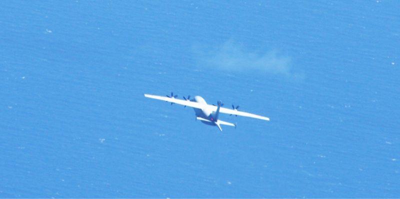 共機又闖我西南空域!國防部:1架次<b>運8反潛機</b>擾台