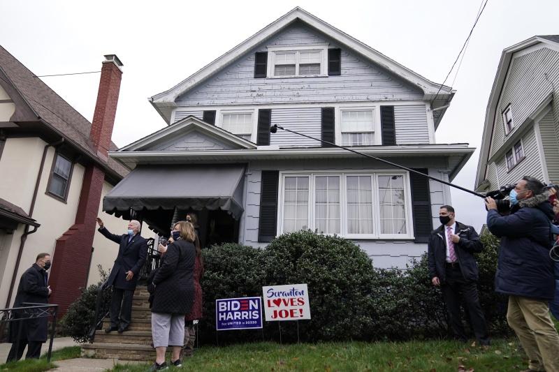 選投票日重返賓州故居 拜登祈求上帝:從這座房子到白宮