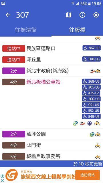 ▲一名網友等公車的時候發現,竟有同一班公車一次狂來7輛。(圖/翻攝自PTT)